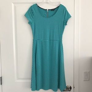 The Limited Dress Size S Stripe Blue